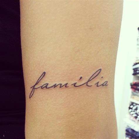familia tattoo beautiful familia design meaningful family