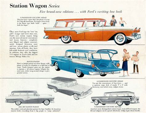 ford brochures directory index ford 1957 ford 1957 ford full line brochure