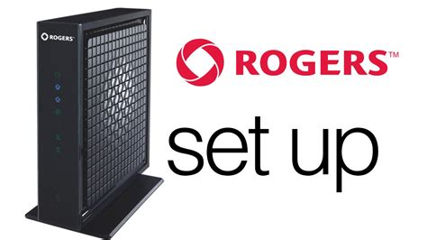 Modem Rogers how to set up rogers advance wifii new router modem in one