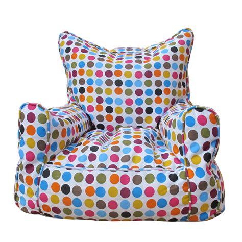 polka dot sofa bean bag sofa polka dot avalan kids