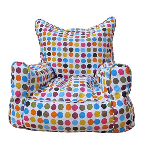 polka dot couch bean bag sofa polka dot avalan kids