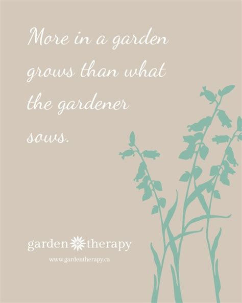 printable garden quotes more in a garden grows than what the gardener sows