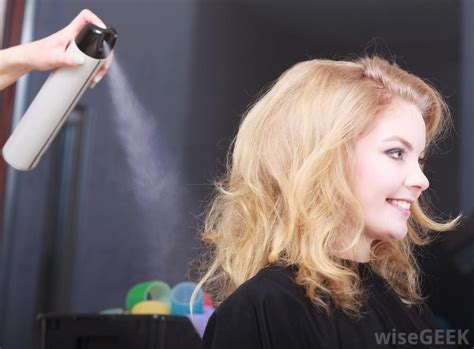what is hair of the what is an aerosol hair spray with pictures