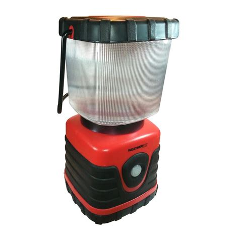 weatherrite 610 lumen led lantern in 5949 the home depot