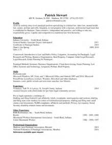 paralegal resume sles stand out resume exles 2016 resume template exle