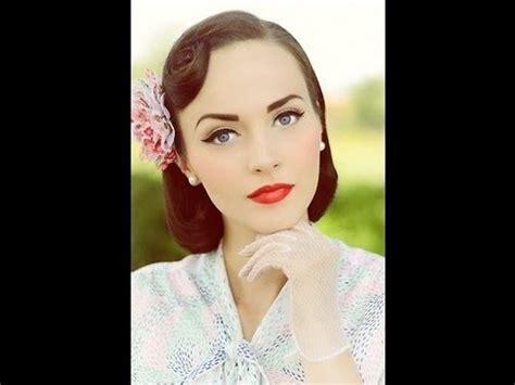 vintage makeup tutorial classic vintage inspired makeup tutorial