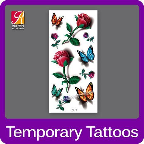 Sticker Stiker Tato Butterflytemporary 1 wholesale tatoo 3d 2015 flower butterfly temporary waterproof tattoos