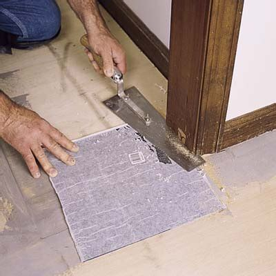 trim the door jamb and casing how to lay a vinyl tile floor this old house