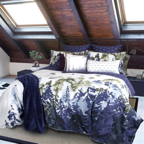 comforters with trees on them home republic designer bedding sitka collection qe home