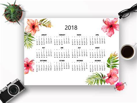 printable calendar 2018 flowers hawaii calendar 2018 calendar 2018 printable calendar 2018