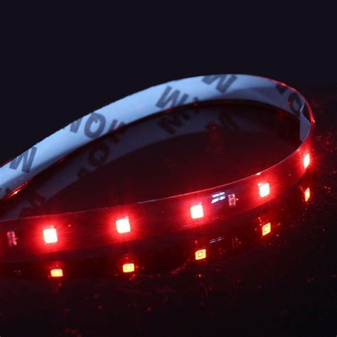 pink led strip lights grill led lights red car truck grille kit 2 piece bright