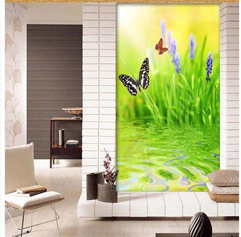 wallpaper rumah bunga high quality grosir sederhana lanskap dari china sederhana