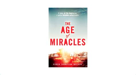 The Miracle Season Age Rating Book Review The Age Of Miracles Psychologies