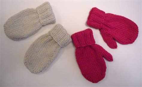 knitted mittens on 2 needles mack and mabel baby mittens knitting pattern