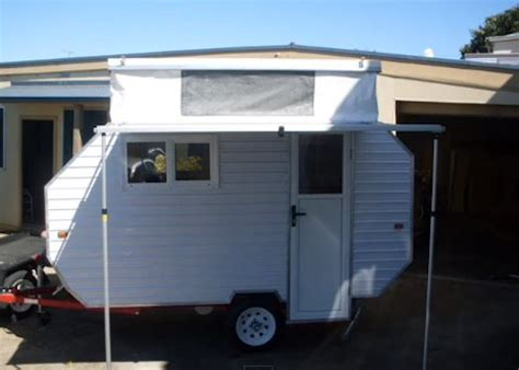 Awning Roof How To Build A Lightweight Homemade Camping Trailer With