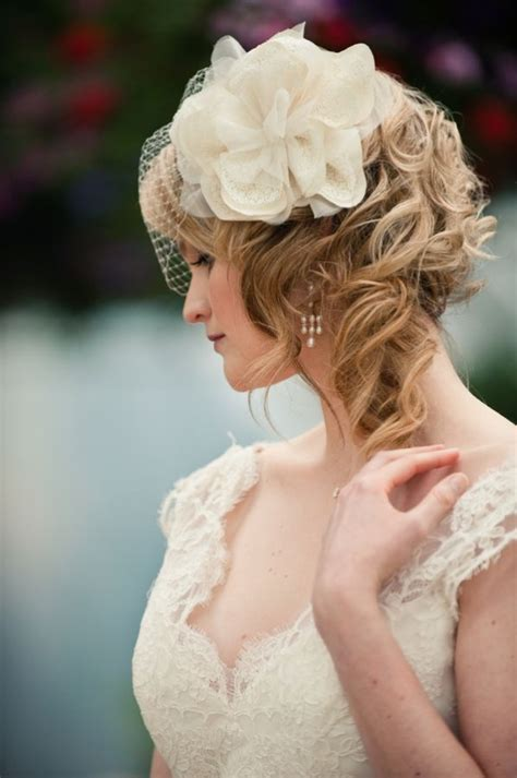 Vintage Wedding Hairstyles With Birdcage Veil by 1000 Images About Bridal Hair Vintage On