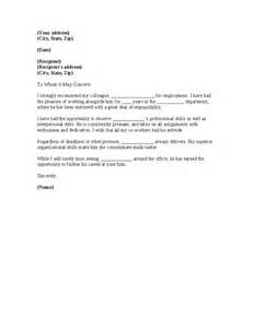 C Worker Cover Letter by Reference Letter For Coworker Cover Letter Templates