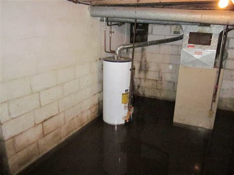 basement flooding near water heater