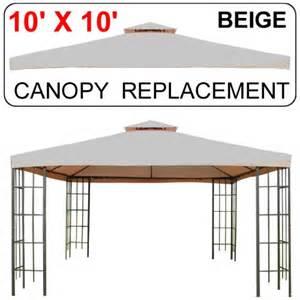gazebo screen room 10 x 10 gazebo replacement canopy