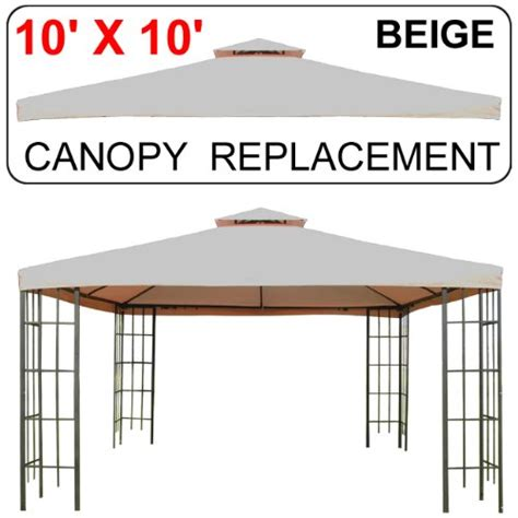 10 X 17 Replacement Canopy by 10 X 10 Gazebo Replacement Canopy T Review Crossing
