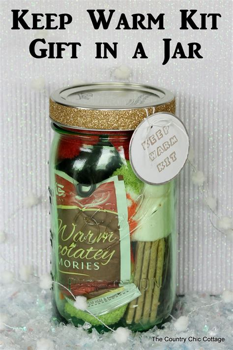 how to make mason jar kit gifts
