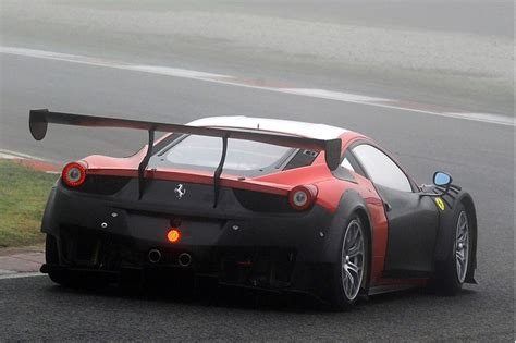 Ferrari 458 Car by 2013 Ferrari 458 Gt3 Race Car Spy Shots