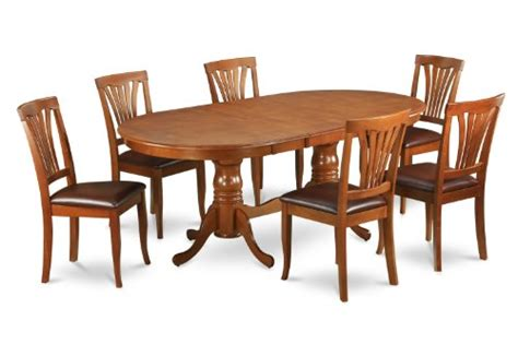 8 pc hamlyn rectangular double pedestal table dining room 7pc oval newton dining room set extension leaf table 6