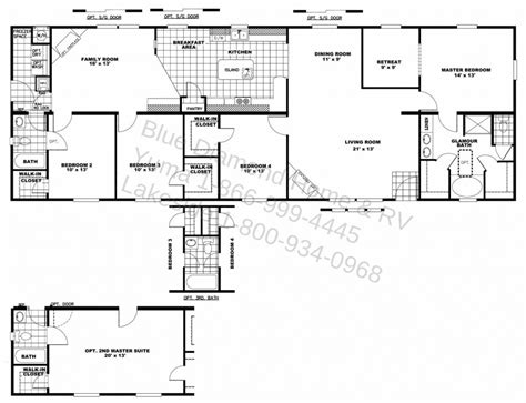 ranch floor plans with two master suites ranch style house plans with two master suites lovely home