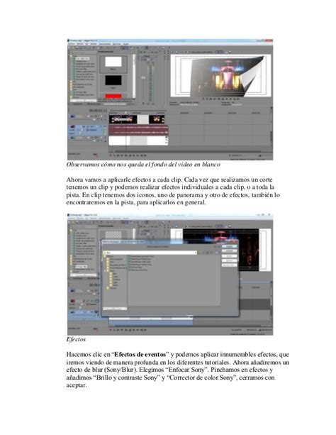 tutorial sony vegas 11 tutorial de sony vegas pro 11