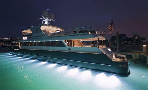 yacht underwater lights customer underwater lights photos underwater lights