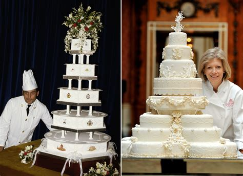 Royal Wedding Comparison by Princess Diana Wedding Cake Owned By For Decades