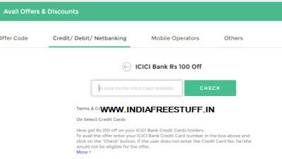 icici bank bookmyshow offer icici bank credit card ticket rs 100 on