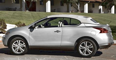 Convertible Nissan Suv by Want A Convertible Suv Nissan S Murano Crosscabriolet Now