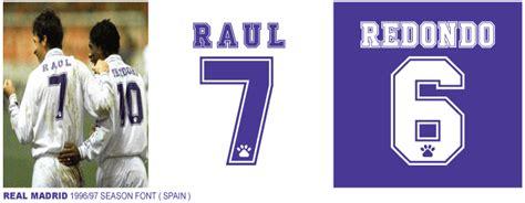 Custom Name Polyflex Font Juventus 1999 font real madrid 1996 97 kits timix patch timix patch