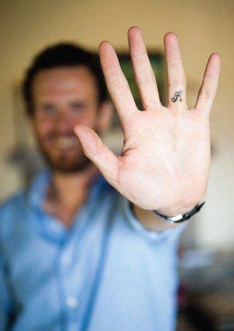 tattoo underside finger an underside wedding ring tattoo secret tattoo