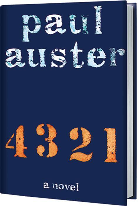 4 3 2 1 a novel books paul auster author of 4 3 2 1