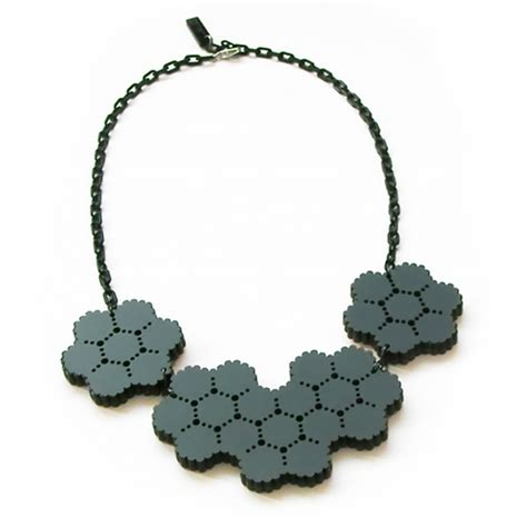 design milk necklace mesh reversible necklace by kyoko hashimoto design milk