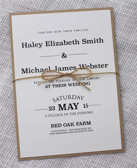 Wedding Invitation Cards Simple by Simple Wedding Invitations Best Photos Simple Wedding