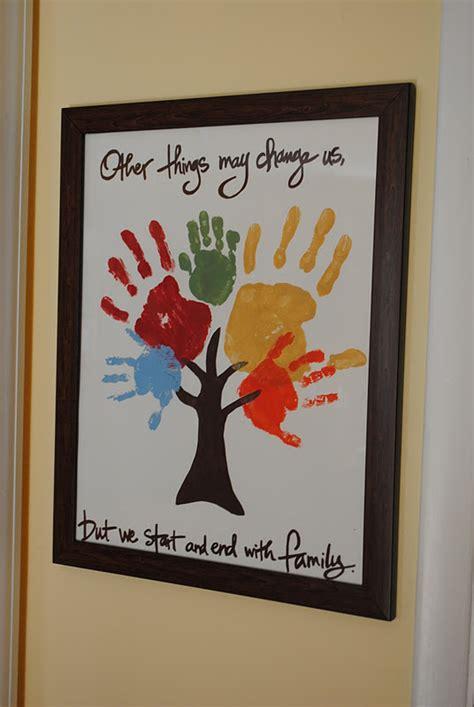 3 handprints tree family tree handprint