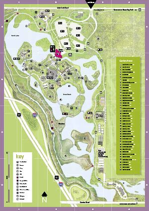 chicago botanic garden map garden map chicago botanic garden