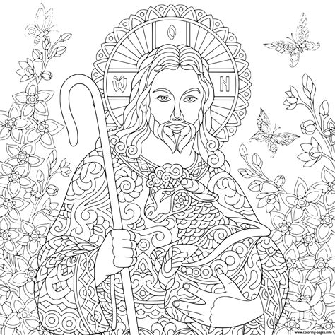 easter coloring pages religious religious easter jesus with a portrait of