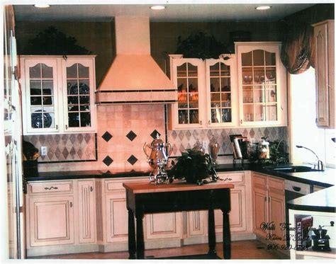 antique finish kitchen cabinets bellevue faux furniture cabinet finishes and refinishing