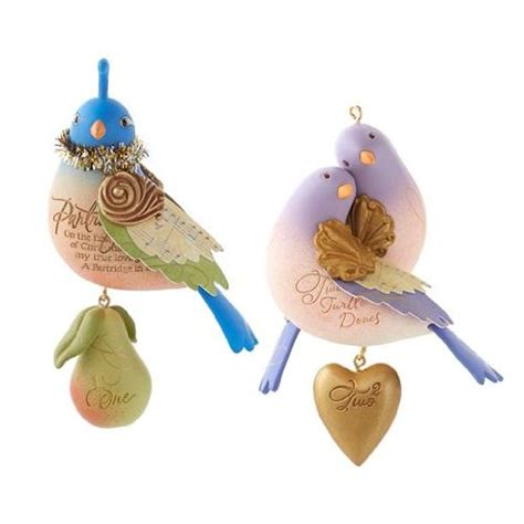 hallmark twelve days of christmas bird series