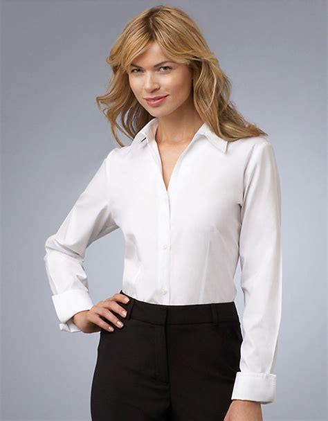 Blouse Atasan New York jones new york e z care blouse in white lyst