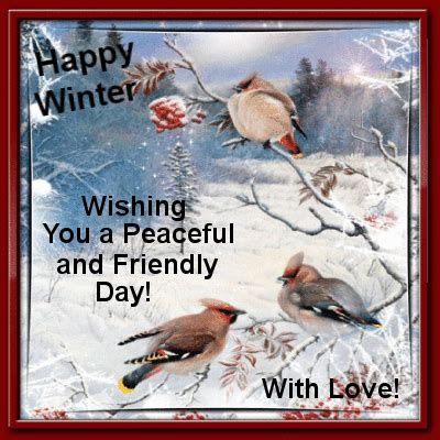 happy winter wishing   peaceful  friendly day pictures   images  facebook