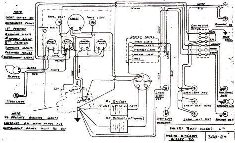 boat instrument panel wiring diagrams free