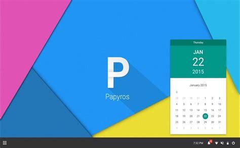 google design linux papyros la nuova distro basata su arch linux in stile