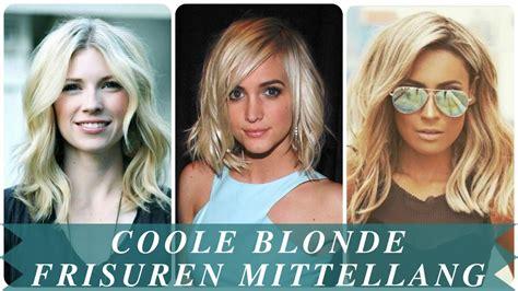 Blond Frisyr by Coole Frisuren Mittellang