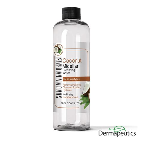 Detox Coconut Water by Coconut Micellar Cleansing Water Dermapeutics Inc