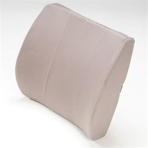 Memory Foam Cushion Pad Maxiaids Softeze Memory Foam Lumbar Cushion